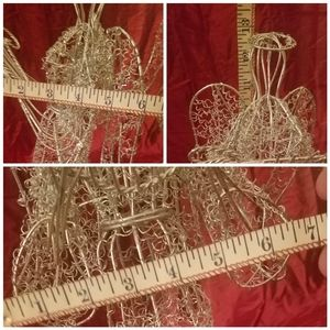 unknown Holiday - Matching Wire Sculpture Angels
